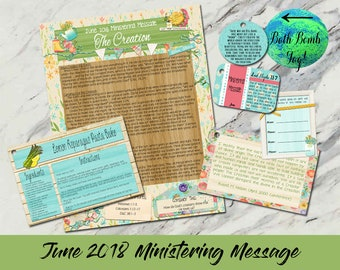 June 2018 Ministering Message: The Creation