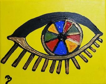 Black & Yellow Eyes
