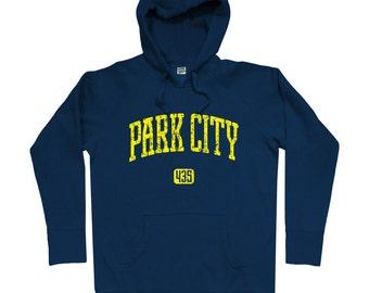 Park City 435 Hoodie - Men S M L XL 2x 3x - Park City Hoody, Sweatshirt, Utah - 4 Colors