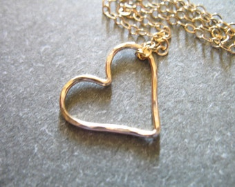 Shop Sale..2 5 10 pcs, HEART Links Charms Pendants, Hammered, 15.5x14 mm, 14k Gold Fill or Sterling Silver, love bridal bridesmaids hht