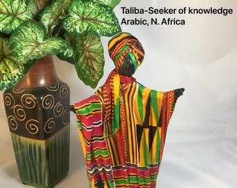Taliba, Sherika Queen Statue, Welcome to Wakanda Collection, size 2, 9 inches