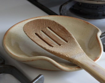 Ceramic Spoon Rest | Made to Order