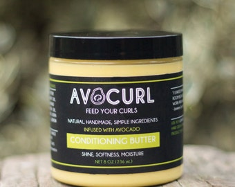 AVOCURL Conditioning Butter, 8oz