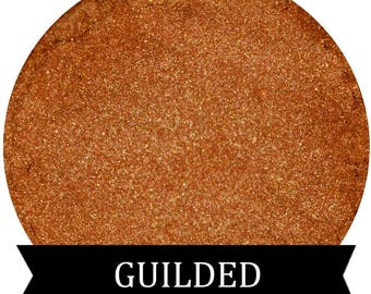 Warm Gold Eyeshadow Pigment GUILDED