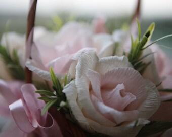 Paper flower bouquet with candies inside, wedding bouquet, paper flower bouquet, candy bouquet, candy flowers, paper rose, edible bouquet