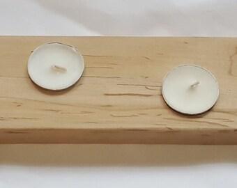 Artisan Maple Candleholder