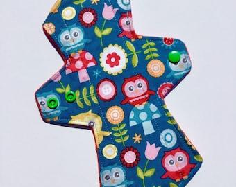"9"" MODERATE Day Pad / Mama Cloth / Cloth Pads"