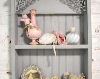 Painted Cottage Prairie Chic Hand Made Shabby Chic Shelf