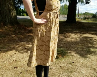 Horse Apron Dress