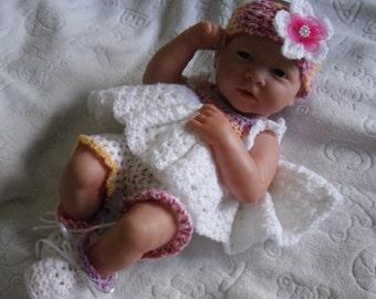 Crochet pattern for Berenguer 14 inch la newborn baby doll