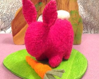Dark Pink Bunny Pal