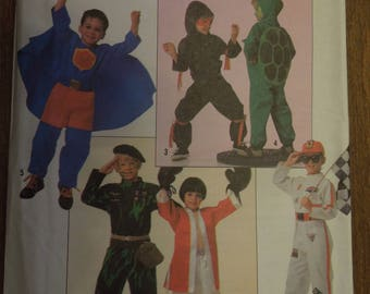 Simplicity 0669, sizes 3-8, boys, costumes, UNCUT sewing patterns, craft supplies