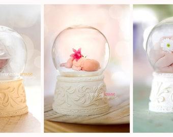 Sweet Dreams-Glass Ball Templates 3 psd files/overlays/digital backdrop
