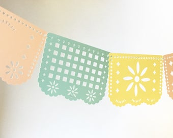 FIESTA Garland/ Birthday party / Home Decor / Paper Decor