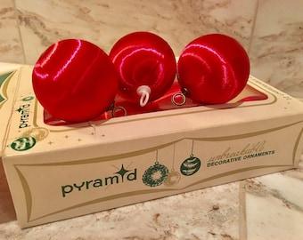Pyramid Brand Vintage Unbreakable Christmas Ornaments