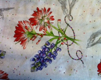 Bluebonnets and Indian Paintbrushes 26134-K from Ink and Arrow