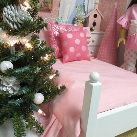 PDF Sewing PATTERN -18 inch Girl  Doll  Comforter Set-Ribbonwood Cottage Designs