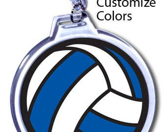 Volleyball Bag Tag - Personalized - 2 Size Choices