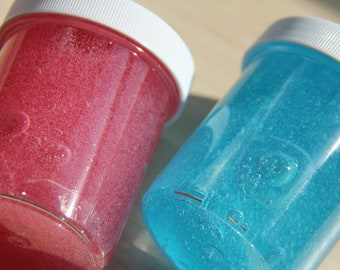 4oz. SCENTED Hawaiian Punch Clear Base Slime + Activator Powder!