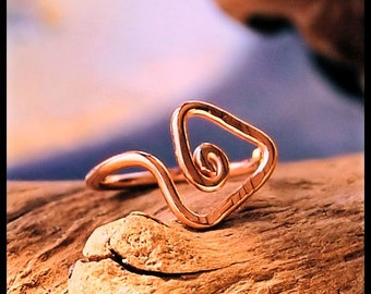Tribal Triangle Rose Gold Filled Catchless / Seamless Nose Ring - CUSTOMIZE