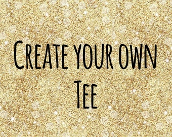 Create your own mens tshirt - short sleeved
