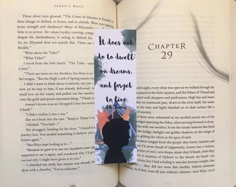 It Does Not do to Dwell on Dreams Bookmark