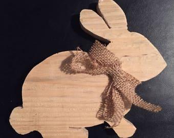Wooden bunny