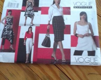 Sewing pattern shirt, top, dress, skirt and pants