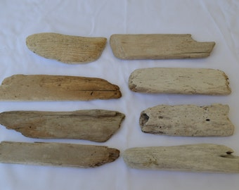 "100 Pieces of Driftwood for Wedding Supply, Place Cards, Escort Cards, Decor (4-6"")"