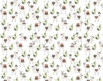 Crib Sheet Llamas from Peru, Organic Fitted Crib Sheet, Baby Bedding, Modern Crib Bedding, Minky Crib Sheets