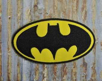 Batman Superhero Bat Movie Gotham Embroidered Iron On Or Sew On Patch
