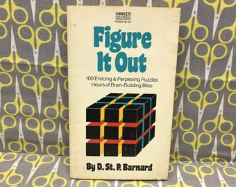 Figure it Out by D St P Barnard paperback book vintage