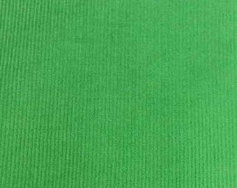 "SALE Lime Featherwale Corduroy Fabric  --  58"" Wide"