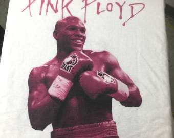 Floyd Mayweather T-shirt Pink Floyd Shirt