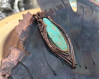Evans turquoise pendant