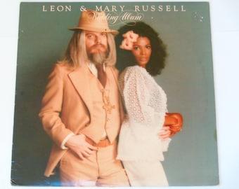 "Leon & Mary Russell - Wedding Album - ""Lavender Blue"" - Paradise Records 1976 - Vintage Rock Vinyl LP Record Album"