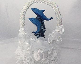 Beach Wedding Topper, Nautical Cake Topper, Beach Wedding Topper, Beach Cake Topper, Cake Decor,