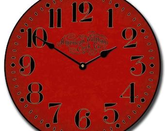 Houston Big Red Wall Clock