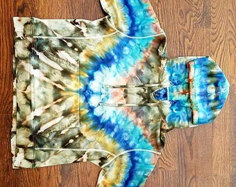 Tie dye Hoody. J Crew hoody. Size large. Thick heavy hoody. A real eye catcher.