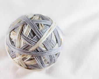 PRE-ORDER - Hedwig - Self-Striping - Nuthatch - 75/25 superwash merino/ nylon sock yarn