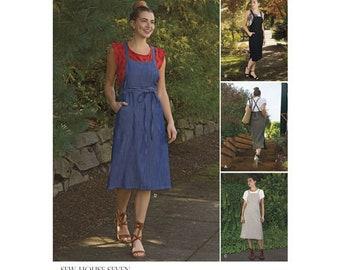 Simplicity Pattern 8641 Misses' Jumper Dress Sewing Pattern