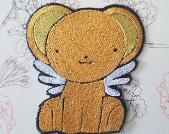 Cardcaptor Sakura Kero Embroidery Patch 3in x 3.5in