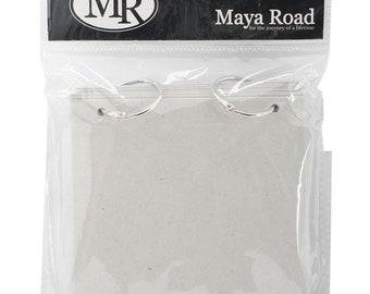 "MAYA ROAD CHIPBOARD 5x5""  ALBuM   - New Item !!   INCLUDEs RINGs !!"