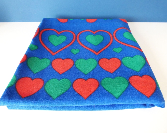 Fabric / Table cloth Hearts From Sweden Vintage 236cm  Massive
