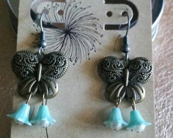 Spring Dreams Butterfly Earrings
