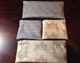 Downton Abbey Coin or Pencil/Makeup Bag
