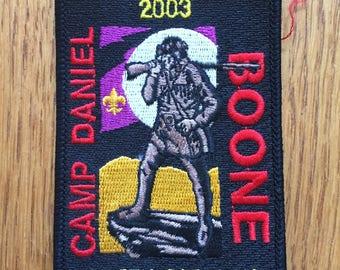 Camp Daniel Boone Patch