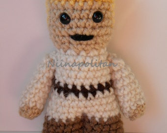 Star Wars Inspired Amigurumi Doll - Luke Skywalker - MADE TO ORDER