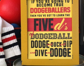 Dodgeball party, Dodgeball birthday party, If You're Going to become true DODGEBALLERS Rules, sign, printable,kickball,dodgeball