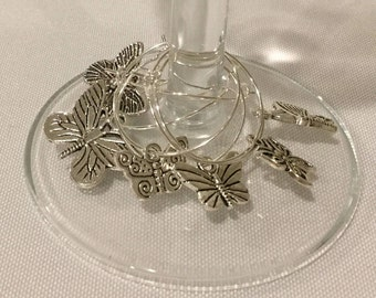 Wine Charms - Butterfly Beauties